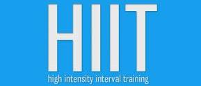 HIIT stands for High Intensity Interval Training it is an enhanced form of interval alternating periods of short intense aerobic exercise with less intense aerobic recovery periods/rest periods and it is considered to be an excellent way to maximize your workout when time is limited  and it is also one of the best ways to burn fat.