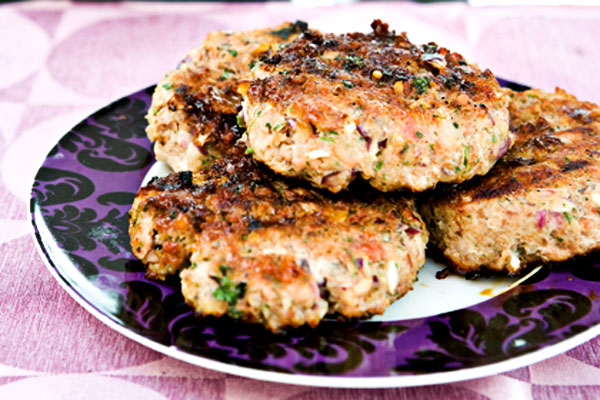 Turkey and Bacon Burgers